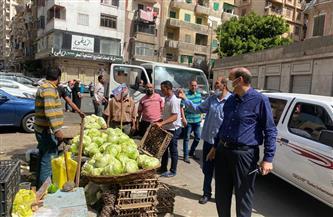 فض سوق زين العابدين الشعبي بالإسكندرية| صور