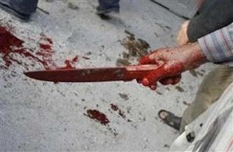 فريق البحث الجنائي يعاين شقة المتهم بذبح زوجته وأطفاله الستة في الفيوم