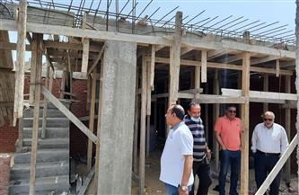 إيقاف بناء لعقار مخالف  في العامرية غرب الإسكندرية| صور