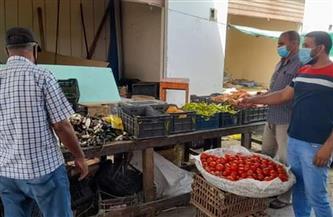 حملات تفتيشية على سوق الخضار في القصير| صور