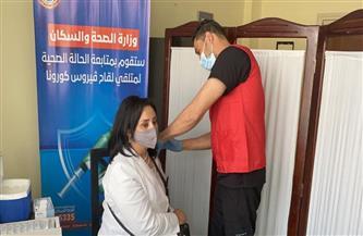 نائب وزير السياحة والآثار تتلقى مصل كورونا بأحد المراكز الطبية في جنوب سيناء