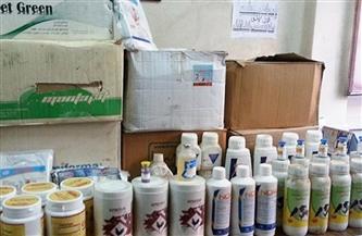 ضبط 5300 كرتونة أدوية بيطرية مجهولة المصدر بالقليوبية