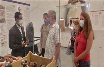 شاهد.. إقبال على زيارة متحف الحضارة رغم الصيام وارتفاع الحرارة| صور