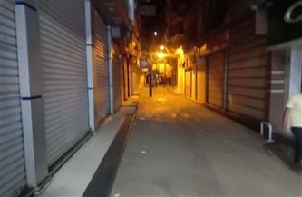 غلق 7 محال تجارية لمخالفة الإجراءات الاحترازية بالعامرية غرب الإسكندرية