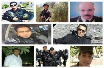 المصريون يصدمون الجماعة الإرهابية بصور الشهداء ردًا على دعوتها للإفراج عن عناصر الإرهاب