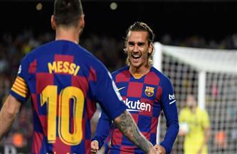 ميسي وجريزمان يقودان التشكيل المتوقع لبرشلونة أمام أتلتيكو مدريد