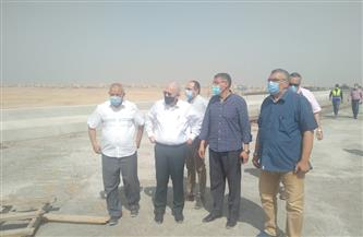 مسئولو «الإسكان» و«المقاولون العرب» يتفقدون مشروع كوبري ونفق طريق الواحات بـ6 أكتوبر|صور