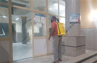 مركز أرمنت بالأقصر ينفذ حملات تعقيم للمنشآت |صور