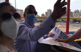 بدء إنشاء السوق الحضاري بميدان محطة مصر |صور