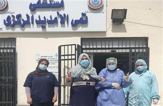 خروج 420 متعافيا من كورونا بمستشفيات العزل خلال أسبوع بالدقهلية | صور