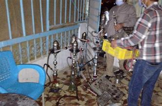 غلق 6 محلات و3 مقاه وسط الإسكندرية لعدم الالتزام بالإجراءات الاحترازية