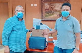 مستشفى كفرالزيات العام تتلقى تبرعًا بمستلزمات طبية لصالح مرضى كورونا| صور