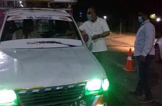 ضبط ١٥ مواطنا بدون كمامة في حملة بمدينة إسنا جنوب الأقصر
