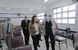 افتتاح مدرسة عصام شرف الدين الابتدائية بقرية البستان في دمياط |صور
