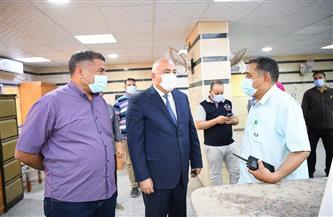 استمرار أعمال التشطيبات النهائية بمبنى الوحدة المحلية لمركز نجع حمادي |صور