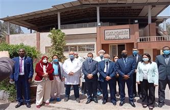 وزير الثروة الحيوانية السوداني يتفقد معهدي الصحة الحيوانية والأمصال واللقاحات البيطرية |صور