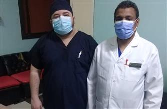 إنقاذ حياة طفلة مصابة بفيروس كورونا في سوهاج تعاني من انفجار بالزائدة الدودية |صور