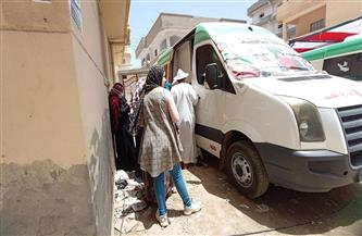 الكشف على 1230 مريضًا فى قافلة طبية بمدينة إدكو فى البحيرة | صور