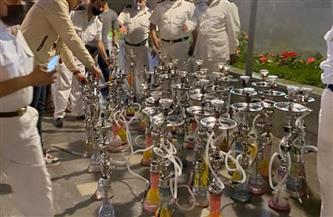 إغلاق 10 منشآت تجارية ومقهى خالفت الإجراءات الاحترازية بأحياء غرب والمنتزه ثان بالإسكندرية