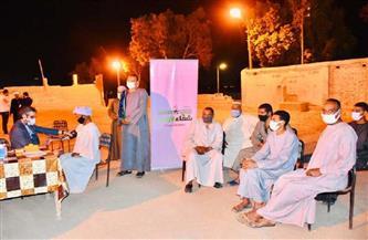 أهالي قرية المدامود يتبرعون بالدم لمرضى الأورام في الأقصر |صور