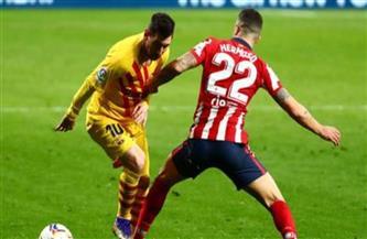 قمة مباريات الليجا.. انطلاق مباراة برشلونة وأتليتكو مدريد