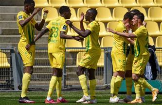 نانت يفوز على بوردو بثلاثية نظيفة في الدوري الفرنسي