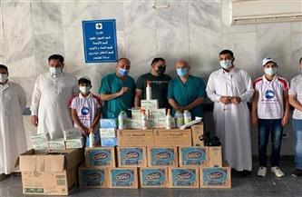 مستقبل وطن مطروح: إهداء مستشفى الضبعة مطهرات وكمامات ومستلزمات طبية | صور
