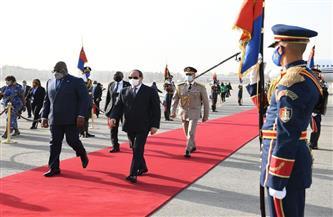 الرئيس السيسي يستقبل رئيس جمهورية الكونغو الديمقراطية بقصر الاتحادية| فيديو