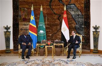 الموقع الرئاسي ينشر فيديو استقبال ومباحثات الرئيس السيسي ورئيس جمهورية الكونغو الديمقراطية | فيديو
