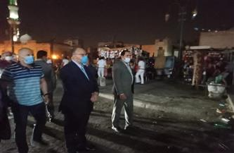 في جولة مفاجئة.. محافظ القاهرة يغلق عددًا من المحال المخالفة