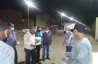 رئيس مدينة القصير يقود حملة موسعة بكافة شوارع المدينة