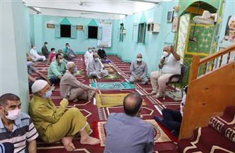 """لعدم الالتزام بالإجراءات الاحترازية.. إغلاق مسجدي """"الاستقامة"""" و""""إبراهيم الدسوقي"""" بالخارجة"""