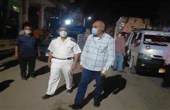 إغلاق ٧ محال تجارية مخالفة بمدينة إسنا جنوب الأقصر