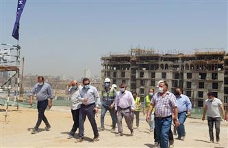 الجزار يتابع الموقف التنفيذى لـ70 عمارة ومبنى إداريًا جارٍ تنفيذها بمشروع تطوير منطقة سور مجرى العيون |صور