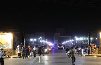 محافظ المنوفية يتفقد فى جولة ليلية انتهاء أعمال التطوير بكوبري عمر أفندي |صور