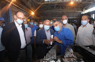 تفاصيل زيارة وزير النقل لورش جبل الزيتون بالإسكندرية المتخصصة في إصلاح عربات البضائع| صور