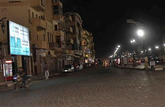 تطهير وتعقيم شوارع إسنا جنوب الأقصر وأماكن ازدحام المواطنين |صور