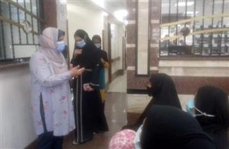 تحرير 31 محضر عدم ارتداء كمامة وإزالات بمدينة القرنة غرب الأقصر| صور