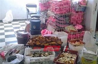 ضبط مستلزمات إنتاج مجهولة المصدر داخل مصنع حلويات بالإسكندرية