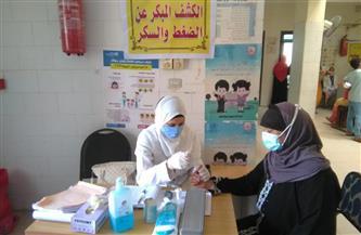 الكشف على 1210 مواطنين في قافلة طبية بقرية منشية المصري كفر الشيخ | صور