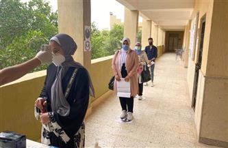 رئيس جامعة مطروح يتفقد امتحانات منتصف الفصل الدراسي الثاني | صور