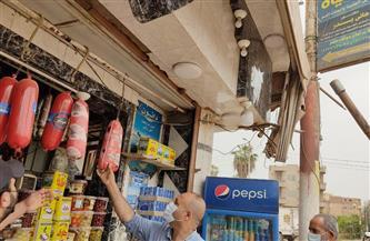 تحرير 19 محضر تموين وصحة وإعدام 100 كيلو أغذية فاسدة في حملة بتلا في المنوفية| صور