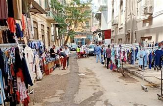 """""""كورونا"""" يضرب مول الغلابة.. حضرت ملابس العيد في وكالة البلح.. وغابت الزبائن / صور وفيديو"""