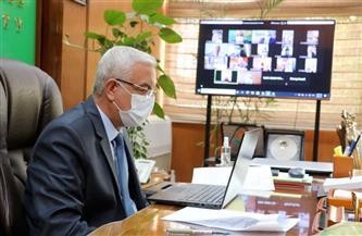 رئيس جامعة المنوفية يتابع الاستعداد لامتحانات نهاية العام في يونيو المقبل | صور