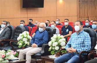 نادي بورسعيد يشكر «الغضبان» على الدعم المالي وتكريم «الطائرة» الصاعد للمحترفين