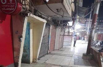 حملة نظافة وتعقيم لشوارع حي المطار بالأقصر | صور