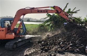 إزالة 789 حالة تعد على النيل بمراكز الدقهلية| صور