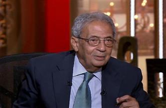 """عمرو موسي: جماعة الإخوان تعاملت بـ""""هزلية"""" مع ملف سد النهضة"""