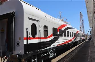 تفاصيل وصول 28 عربة سكة حديد جديدة إلى ميناء الإسكندرية ضمن صفقة الـ 1300