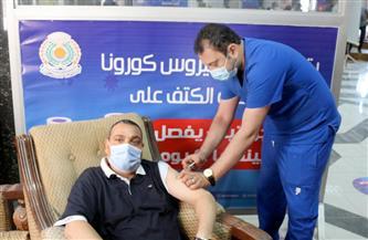 جامعة المنصورة تفتتح مقرها الثاني للتطعيم بلقاح كورونا لقطاع التعليم | صور
